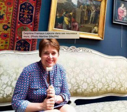 À Rouen, Delphine Fremaux-Lejeune, d'« Affaire conclue » sur France 2, ouvre un hôtel des ventes