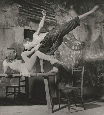 Archive du Théâtre des Champs Elysées.  Ancienne collection Jean Robin et divers...