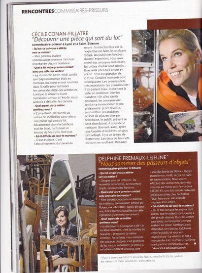Elles ont l'art et le marteau Madame Figaro 18 11 2006