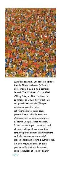 Ablade Glover (1934), Jubilation, 2007, Huile sur toile
