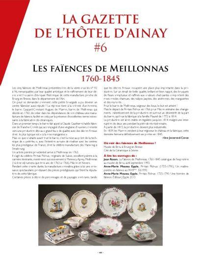 LA GAZETTE DE L'HOTEL D'AINAY #4