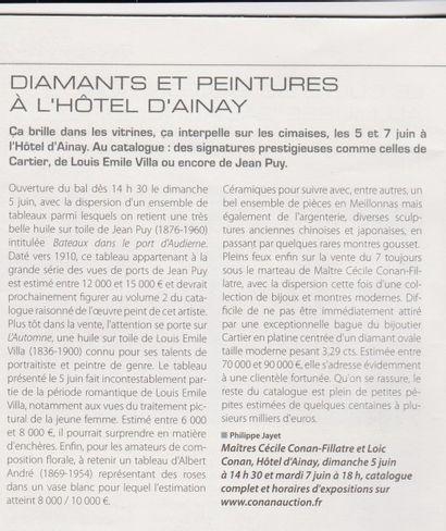 Diamants et peintures à l'Hôtel d'Ainay