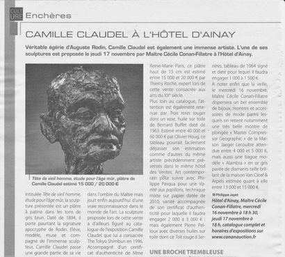 Camille Claudel à l'Hotel d'Ainay
