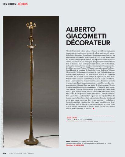 ALBERTO GIACOMETTI DECORATEUR