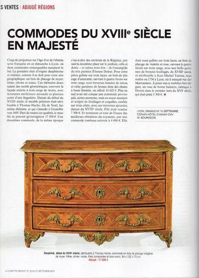 COMMODES DU XVIIIe SIECLE EN MAJESTÉ