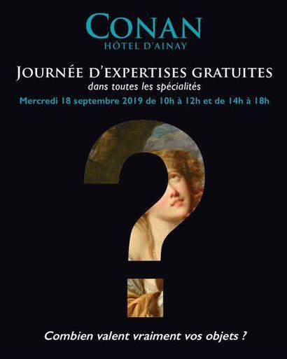 JOURNEE D'EXPERTISES GRATUITES
