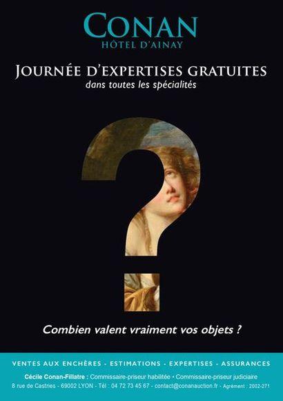 JOURNÉES D'EXPERTISES GRATUITES - 11 ET 12 SEPTEMBRE 2020