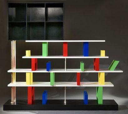 COULEURS MEMPHIS / Bibliothèque Ettore SOTTSASS / vente 12 décembre 2020