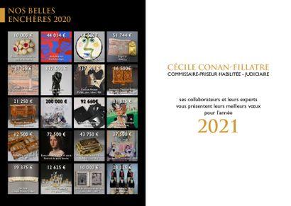 MEILLEURS VOEUX POUR L'ANNEE 2021 !