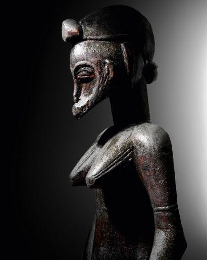 statuette peuple Senoufo adjugée 212 500 € (frais compris), vente du 3 juin 2015