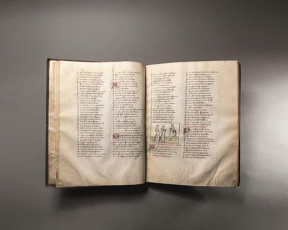 résultat Manuscrit ROMAN DE LA ROSE, vente du 16 novembre 2016