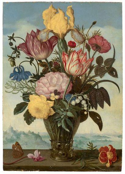 adjugé 3 307 716 € : Ambrosius BOSSCHAERT le Vieux (Anvers 1573 - La Haye 1621)