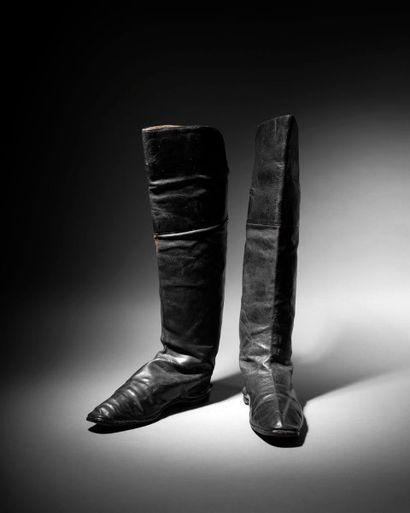 Événement ! les bottes de Napoléon aux enchères