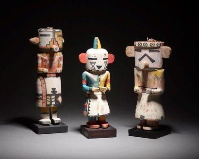 poupées Kachina et Indiens hopi