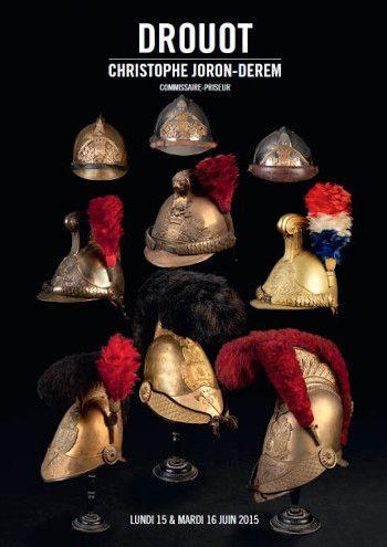 Collection de souvenirs historiques des pompiers de Paris