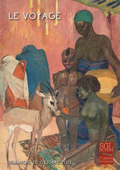 La Fantasia peinte par Jean-Gaston Mantel