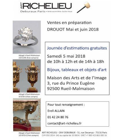 Journées d'expertises Bijoux et Montres