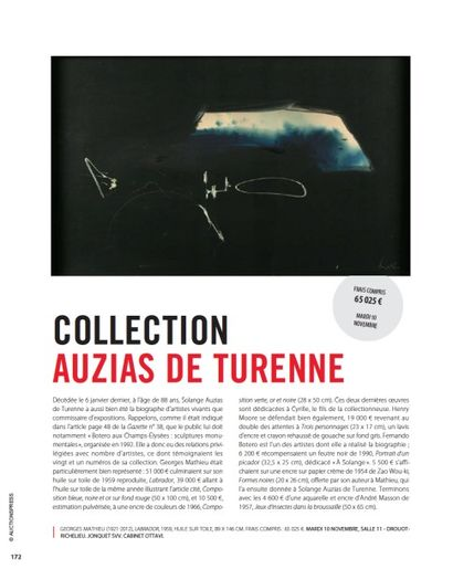 COLLECTION AUZIAS DE TURENNE