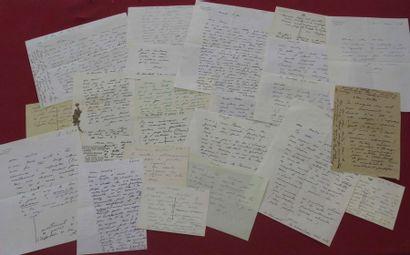 Environ 200 lettres de René CHAR vendue aux enchères le samedi 23 Juin à COMPIEGNE ENCHERES SARL