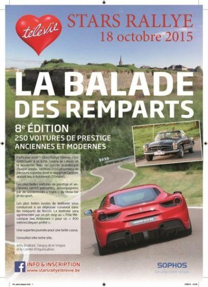 Phoenix Auction au marteau pour la vente aux enchères du Stars Rallye Télévie ce dimanche 18 octobre à 17h30 !