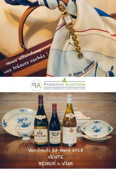 Vente bijoux & vins de ce 23 mars en préparation !