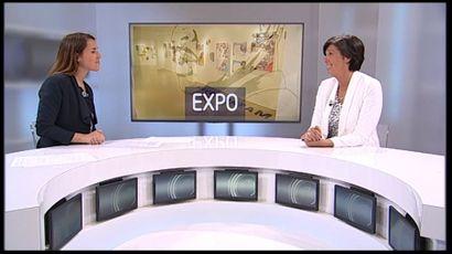 Invitée du JT week-end chez TVcom ce samedi 4/05