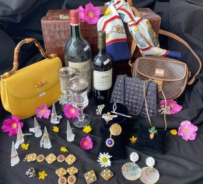 Vacation bijoux & vins en préparation