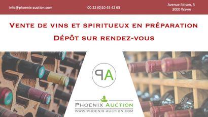 Vente de vins en préparation