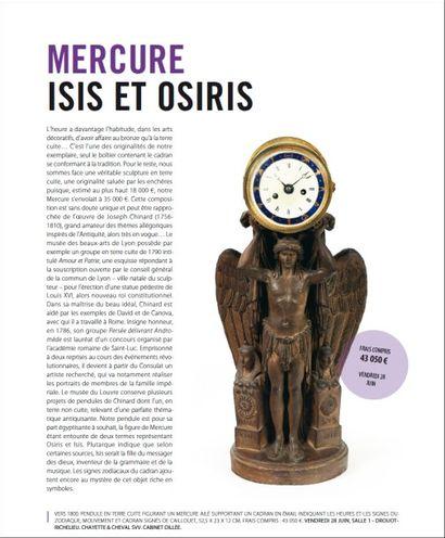 Mercure, Isis et Osiris