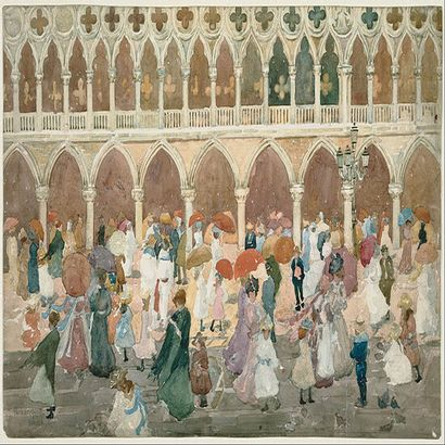Maurice Prendergast, un impressionniste indépendant
