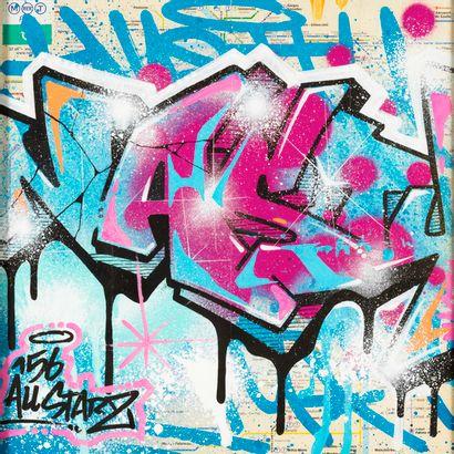 NASTY, figure incontournable du street art français