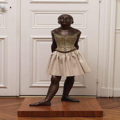 Edgar Degas La petite danseuse de 14 ans