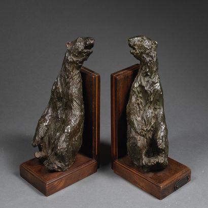 Ary Bitter connu pour ses sculptures animalières