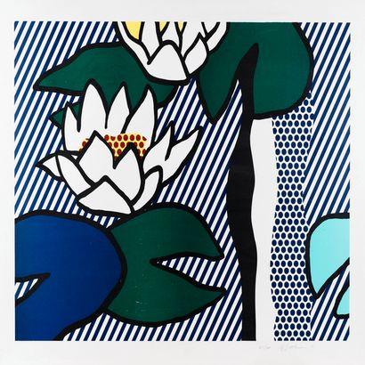Les Nymphéas par Roy Lichtenstein