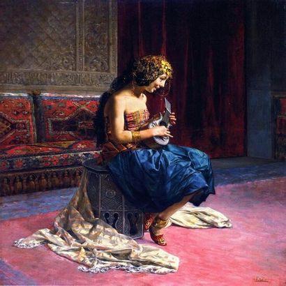 Antonio Fabres y Costa peintre orientaliste