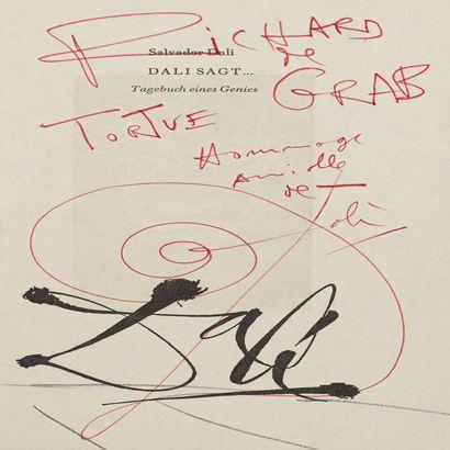 Salvador Dali et Richard de Grab