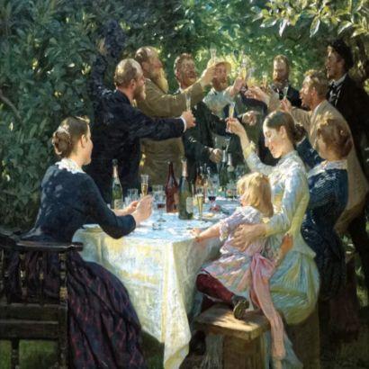 Peder Severin Krøyer, Hip, Hip, Hurrah