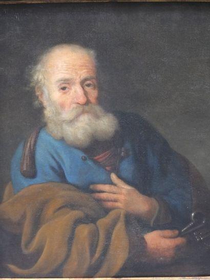 Portrait de Saint Pierre<br>Adjugé 11 000 euros sans frais