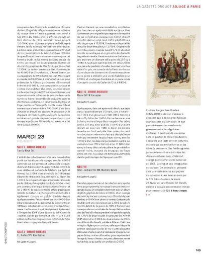 Gazette du vendredi 4 mars 2016