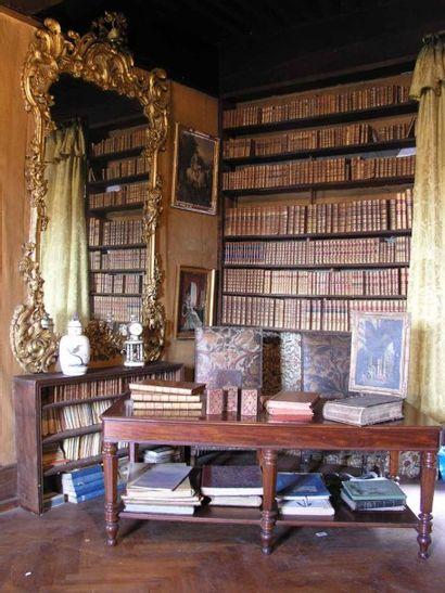 Livres, tableaux et mobilier du château de MAUGNY (Haute-Savoie)