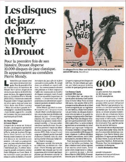 Revue de presse - les Echos - P. Mondy
