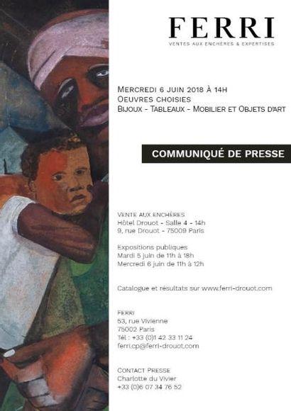 COMMUNIQUE DE PRESSE - OEUVRES CHOISIES