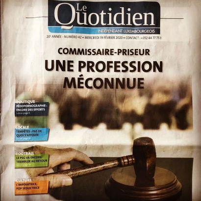 La UNE de Quotidien.lu