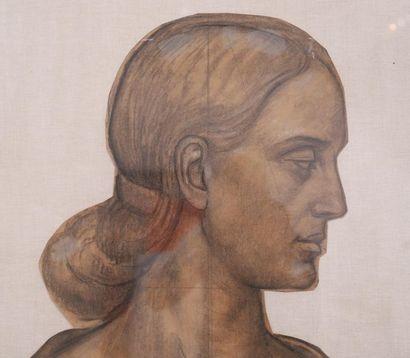 Trémont du fusain au bronze Auguste Trémont (1892-1980) Adjugé 10 625.00 €