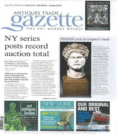 Antique Trade Gazette du 24 mai 2014