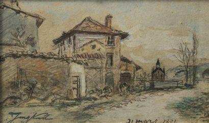 Johan-Barthold JONGKIND (1819-1891)
