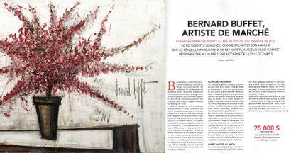 Bernard BUFFET, artiste de marché