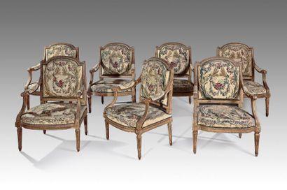 Mobilier de salon par Georges Jacob