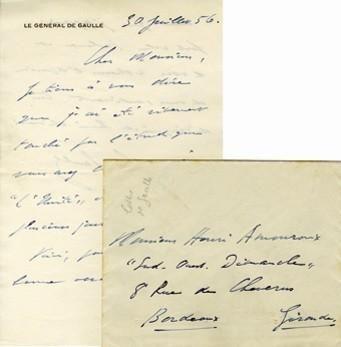 Correspondance AMOUROUX
