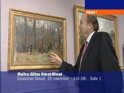 Vidéo LCI sur la vente du 21 novembre 2008